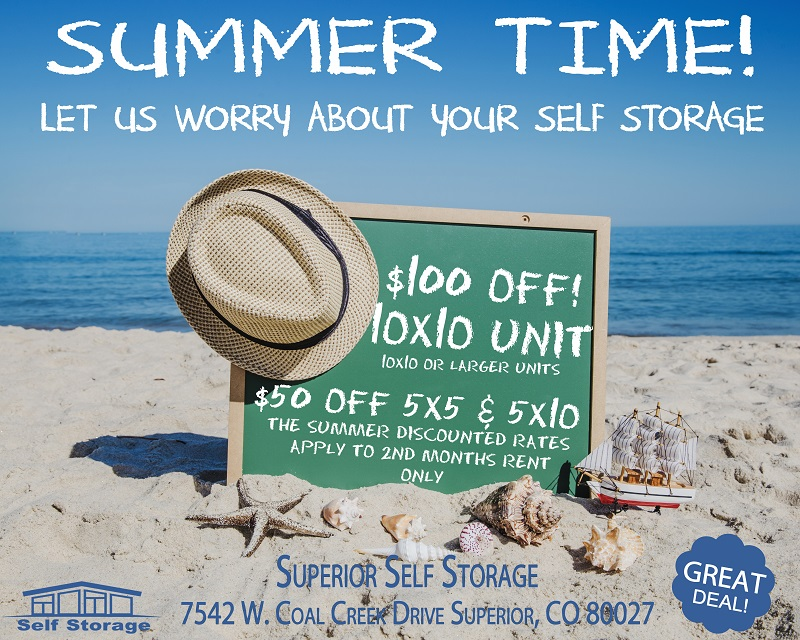 Summer Special & Superior Self Storage - Superior Colorado - Friendly Local Self ...